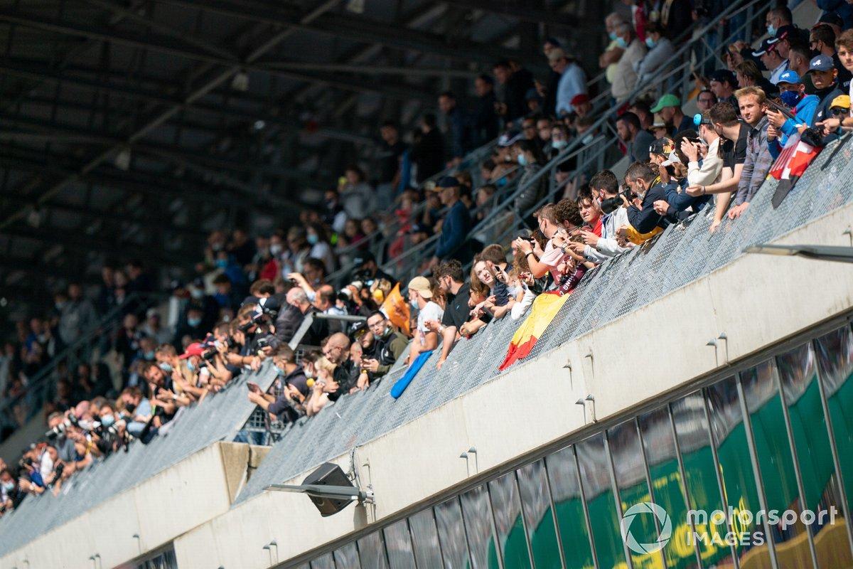Fans en Le Mans