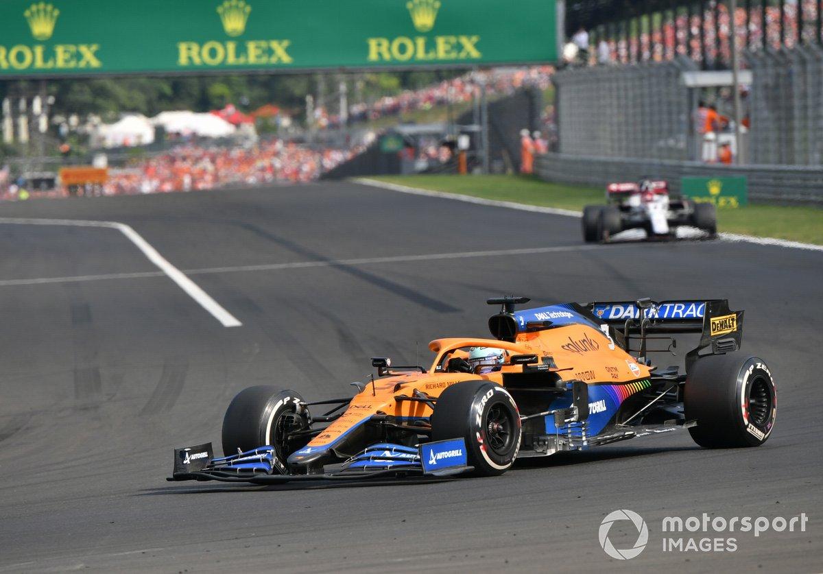Daniel Ricciardo, McLaren: 6 puan