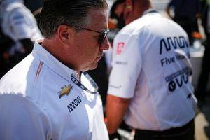 Patricio O'Ward, Arrow McLaren SP Chevrolet, Zac Brown McLaren CEO