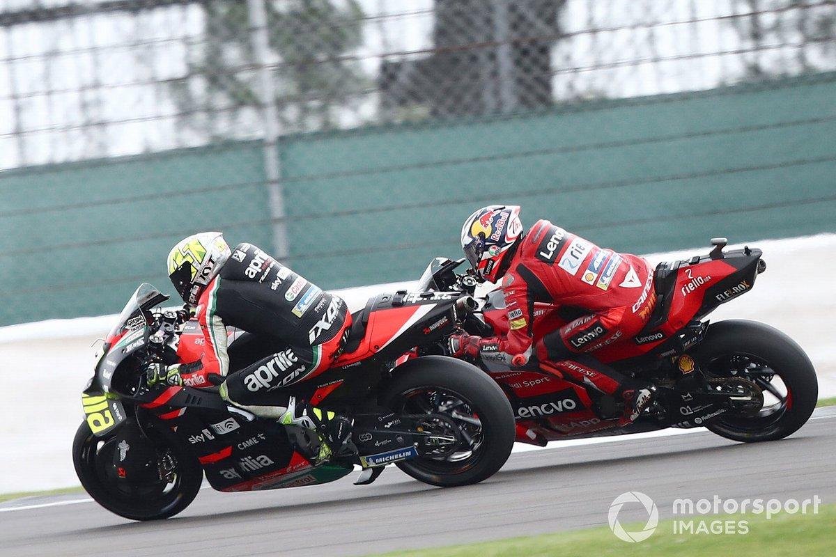Aleix Espargaró, Aprilia Racing Team Gresini Jack Miller, Ducati Team