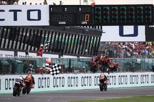 Raul Fernandez, Red Bull KTM Ajo chequered flag race