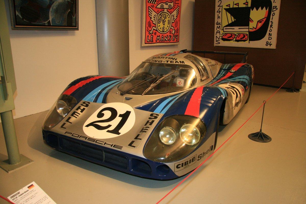 1971年:ポルシェ917LH(Porscha 917 LH - Longue Queue)