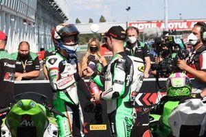 2. Tom Booth-Amos, Fusport - Rt Motorsports by SKM Kawasaki, 3. Jeffrey Buis, MTM Kawasaki