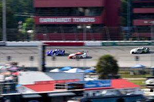 Landon Cassill, JD Motorsports, Chevrolet Camaro Voyager, Alex Labbe, DGM Racing, Chevrolet Camaro Globocam/WORKPRO Tools