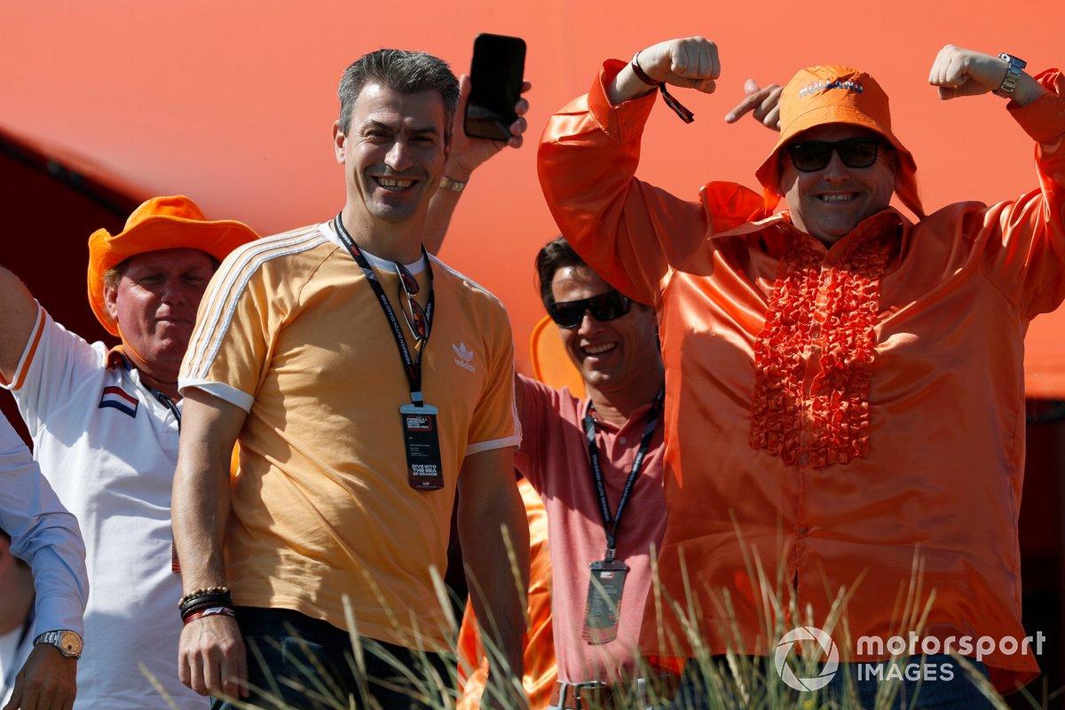Fan di Max Verstappen