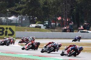 Leon Haslam, Team HRC, Tom Sykes, BMW Motorrad WorldSBK Team, Scott Redding, Aruba.It Racing - Ducati