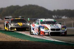#96: Turner Motorsport BMW M6 GT3, GTD: Robby Foley, Bill Auberlen, #4: Corvette Racing Corvette C8.R, GTLM: Tommy Milner, Nick Tandy