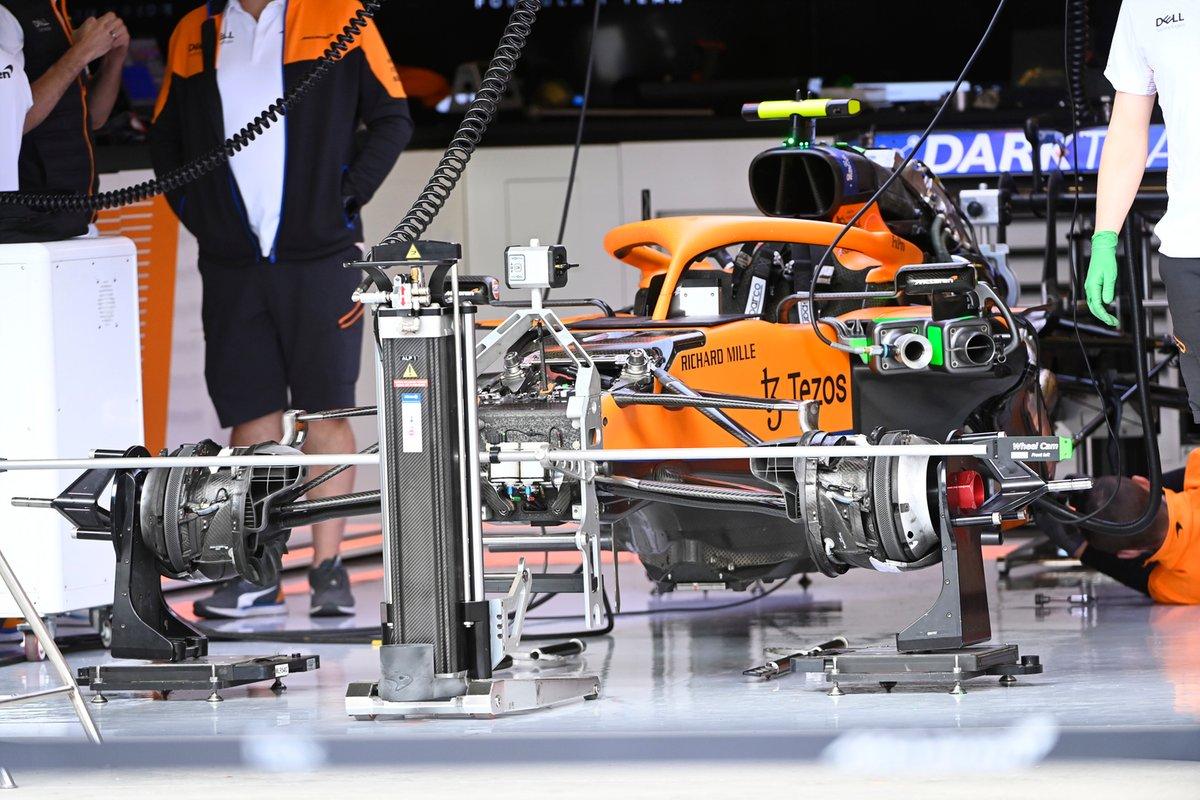 McLaren MCL35M detail