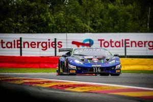 #114 Emil Frey Racing Lamborghini Huracan GT3 Evo: Arthur Rougier, Konsta Lappalainen, Jack Aitken