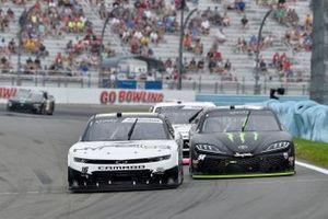 A.J. Allmendinger, Kaulig Racing, Chevrolet Camaro Hyperice, Ty Gibbs, Joe Gibbs Racing, Toyota Supra Monster Energy