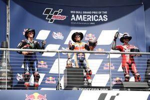 Fabio Quartararo, Yamaha Factory Racing, Marc Marquez, Repsol Honda Team, Francesco Bagnaia, Ducati Team