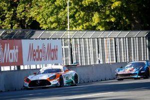 Arjun Maini, GetSpeed Performance Mercedes AMG GT3, Liam Lawson, AF Corse Ferrari 488 GT3 Evo
