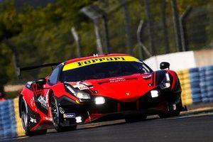 #71 Inception Racing Ferrari 488 GTE EVO LMGTE Am of Brendan Iribe, Ollie Millroy, Ben Barnicoat