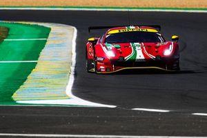 #52 AF Corse Ferrari 488 GTE EVO LMGTE Pro of Daniel Serra, Miguel Molina, Sam Bird