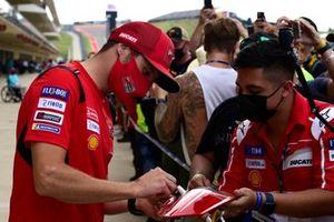 Jack Miller, Ducati Team, pit lane walk