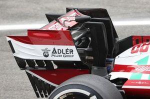 Alfa Romeo C41 rear wing detail
