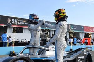 Nyck de Vries, Mercedes-Benz EQ, Stoffel Vandoorne, Mercedes-Benz EQ, 3rd position, celebrate