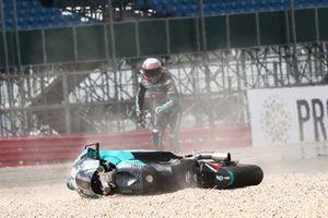 Caída de Xavi Vierge, Petronas Sprinta Racing