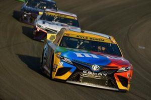 Kyle Busch, Joe Gibbs Racing, Toyota Camry M&M's Ethel M