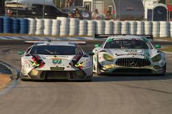 #27 Dream Racing, Lamborghini Huracan GT3: Cedric Sbirrazzuoli, Lawrence DeGeorge, Paolo Ruberti; #3