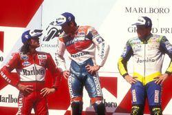 Podium: 1. Mick Doohan, Repsol Honda Team; 2. Alex Barros, Honda; 3. Loris Capirossi, Yamaha