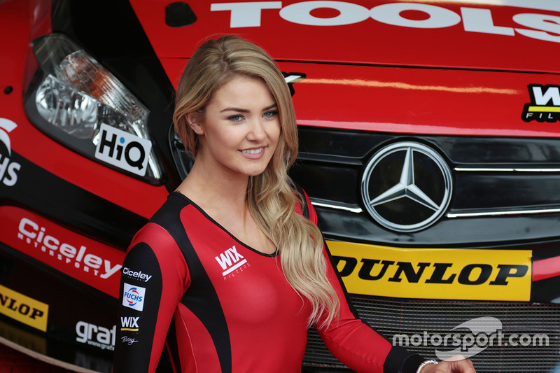 Adam Morgan, Ciceley Motorsport with Mac Tools Mercedes Benz A-Class