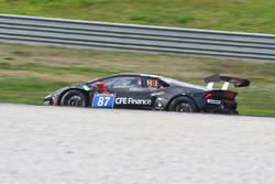 #87 GDL Racing Middle East, Lamborghini Huracán Super Trofeo: Vic Rice, Mario Cordoni, Rik Breukers