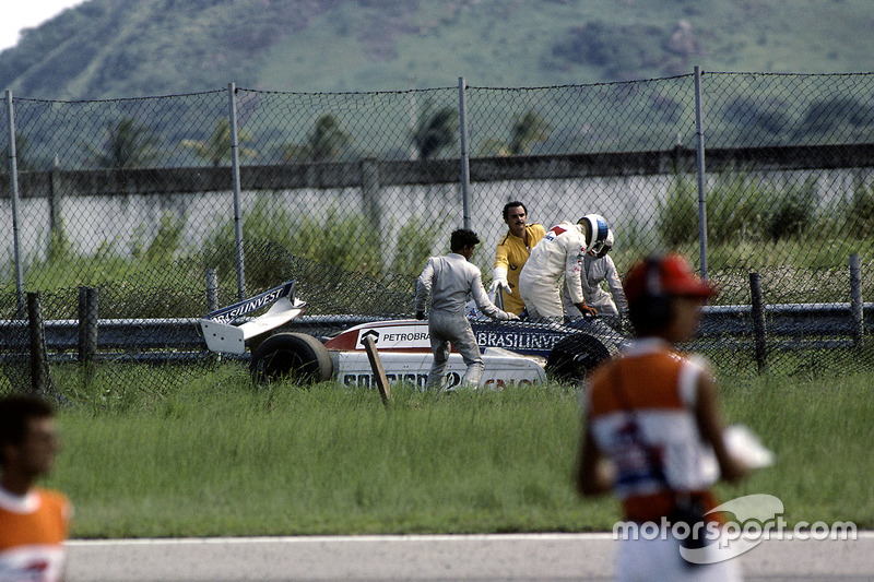 Accidente de Chico Serra, Fittipaldi F8D-Ford Cosworth