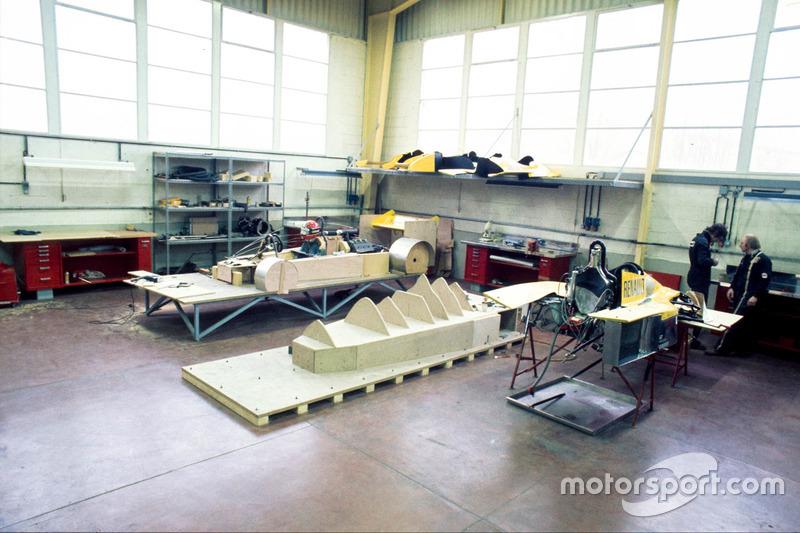 Работа над моделью будущего автомобиля Ф1 на базе Renault