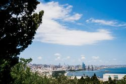 A view of the city from Dagustu (Upland) Park