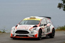 Rudy Michelini, Michele Perna, Ford Fiesta WRC, A-Style Team