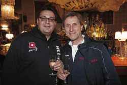 Dominik Greiner, Team manager All-Inkl Motorsport and Roberto Ravaglia, Roal Motorsport