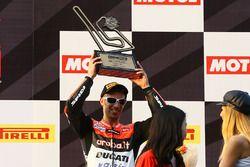Podium: derde Marco Melandri, Ducati Team