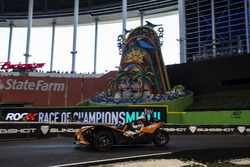 Jenson Button, driving the KTM X-Bow Comp R