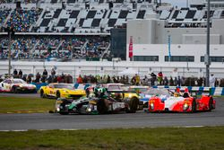 #20 BAR1 Motorsports ORECA FLM09: Don Yount, Buddy Rice, Mark Kvamme, Chapman Ducote, Gustavo Yacama