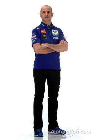 Massimo Meregalli, directeur de l'équipe Yamaha Factory Racing