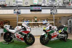 Team LCR Honda bikes of Aaron Slight and Cal Crutchlow