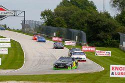 James Davison, Joe Gibbs Racing Toyota and Austin Cindric, Team Penske Ford