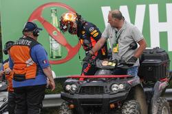 Макс Ферстаппен, Red Bull Racing, зійшов з дистанції