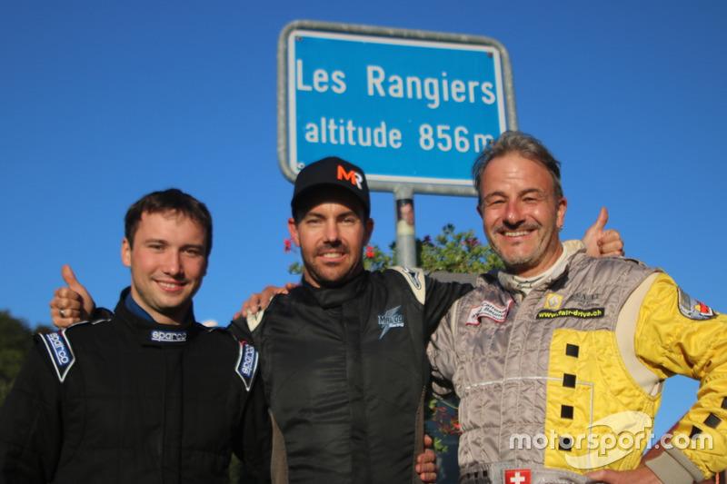 Denis Wolf, Ralf Henggeler, Philip Krebs, podium