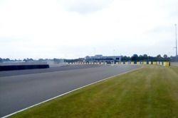 Vista de las curvas Porsche