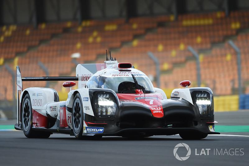 LMP1: #7 Toyota Gazoo Racing, TS050 Hybrid