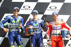 Valentino Rossi, Yamaha Factory Racing, Maverick Viñales, Yamaha Factory Racing, Andrea Dovizioso, D