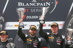 Podio Silver Cup: #42 Strakka Motorsport McLaren 650S GT3: David Fumanelli, Lewis Williamson