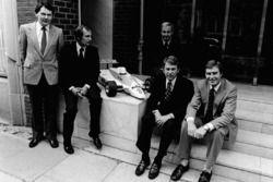 McLaren International John Barnard, Ron Dennis Teddy Mayer, Tyler Alexander ve Creighton Brown McLar