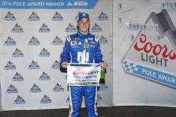 Le poleman Alex Bowman, Hendrick Motorsports Chevrolet