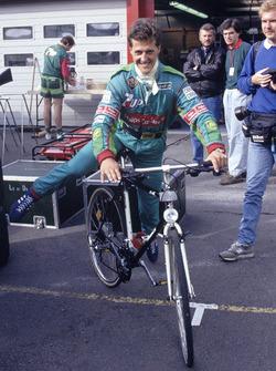 Michael Schumacher, Jordan