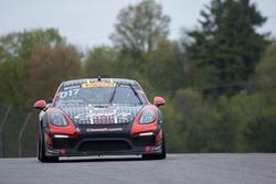 #017 Case.It Racing Porsche Cayman GT4 Clubsport MR: Adam Merzon