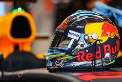 Il casco di Daniel Ricciardo, Red Bull Racing RB13