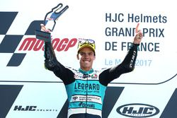 Podium: Ganador, Joan Mir, Leopard Racing